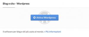 installare su altervista wordpress