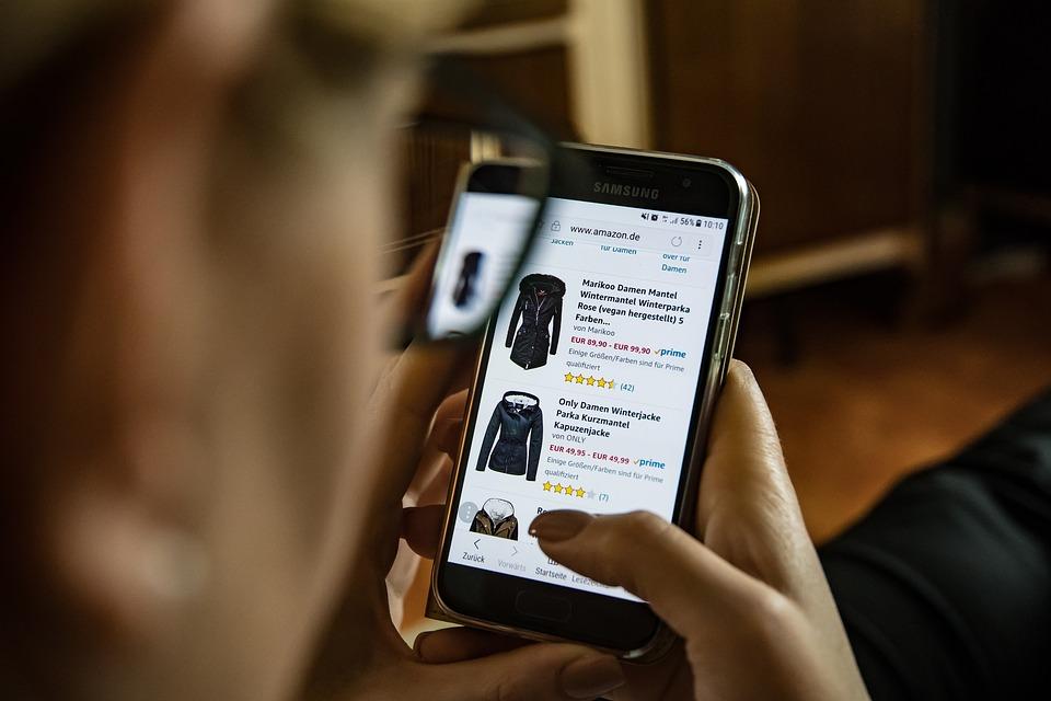 Realizzazione siti web Roma: foto sito e-commerce