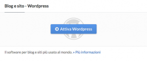 installare su altervista wordpress